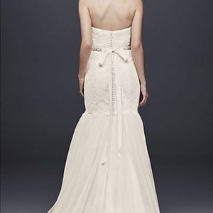 David Bridal wedding dress